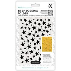 Shoot for the stars with the Stars Universal Embossing Folder from the Xcut Collection by DoCrafts. Office Branding, 3d Star, Craft Stash, Scrapbooking, Card Making Kits, Love Stamps, Gift Labels, Paper Punch, Create And Craft