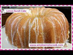 The BEST Lemon Bundt Cake