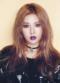 4Minute Hyuna - Beauty Magazine November Issue 15 #4minute #hyuna