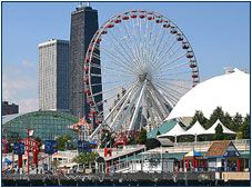 I could stay at Navy Pier all day!  It's a MUST SEE when going to Chicago!