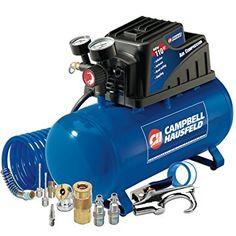 Best Deal Campbell Hausfeld FP209499AV.Campbell Hausfeld Air Compressor (3-Gallon Horizontal Oilless with 10 Piece Kit .36 CFM .33HP 120V 3A (FP209499AV).