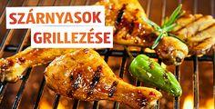 Tudjuk, hogy olvasóink között a húsimádókon kívül vegetáriánusok is lehetnek, sőt sokan kedvelhetik a tenger gyümölcseit is. Gond egy szál se! Egy grillsütőn mindenféle isteni fogás pillanatok alatt elkészíthető. De hogyan tudja a legtöbben kihozni a steakből? Miként lesz minden ínyenc számára tökéletes élmény a grillezés? Olvasd el weboldalunkon! Minden, Chicken Wings, Grilling, Bbq, Meat, Food, Barbecue, Barrel Smoker, Crickets