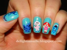 Delight In Nails: Christmas Winter Challenge Day 5 - Toys! - Misfit Toys
