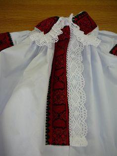 Dámská výšivka z Kunovic