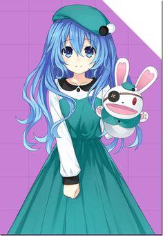 Yoshino | DAL Date A Live, One Punch Anime, Loli Kawaii, A Hat In Time, Fanart, Manga Girl, Anime Girls, Female Anime, Anime Style