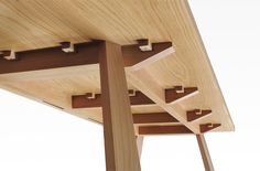 Image result for splayed plywood table legs