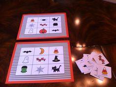 preschooler halloween bingo - Preschool Halloween Bingo