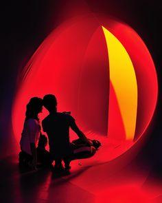 Le luminarium Katena à Rennes ? Une sculpture gonflable monumentale, lumineuse et sensorielle, en visite intérieure au parc du Thabor…