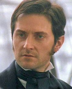 This, ladies, is one of the main reasons to watch North and South: Richard Armitage. Sinead Cusack, Rupert Evans, Storm And Silence, Vicar Of Dibley, Elizabeth Gaskell, John Thornton, Mr Right, Look Back At Me, Ideal Man