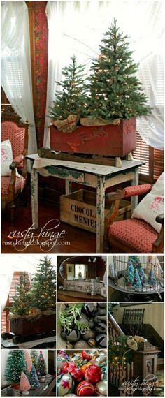Christmas Tree Sleigh