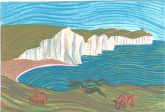 Cuckmere Haven Naive Art, Sisters, Dads, England, Paintings, Places, Paint, Painting Art, Fathers