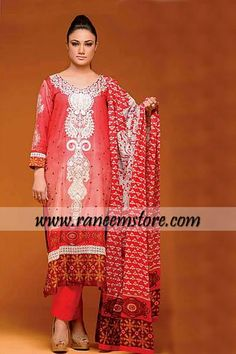 Jubliee Cloth Mills Karam lawn Salwar Kameez Collection 2014, Product code…