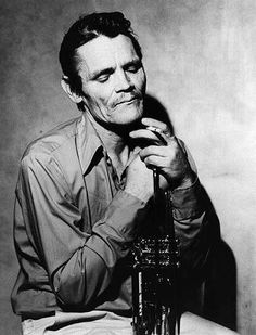 Chet Baker getting closer to the end.