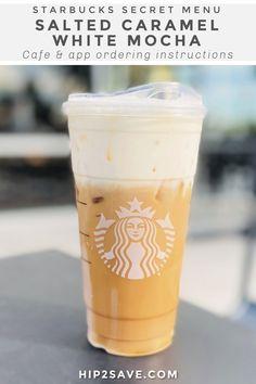 Starbucks Caramel Drinks, Best Starbucks Coffee, Bebidas Do Starbucks, Starbucks Secret Menu Drinks, Starbucks Pumpkin, Starbucks Hacks, Starbucks Iced White Mocha Recipe, Iced Americano Starbucks, Caramel Iced Coffee Recipe