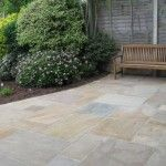 after - patio & bench