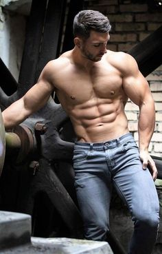 Shirtless Hunks, My Handsome Man, Hunks Men, Le Male, Hommes Sexy, Muscular Men, Athletic Men, Attractive Men, Male Beauty