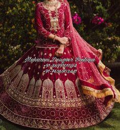 Bridal Lehenga Punjabi Style 👉 📲 CALL US : + 91 - 86991- 01094 & +91-7626902441 DESIGNER BRIDAL LEHENGA #Handwork #Latest #lehenga #lehengacholi #lehenga #lehengacholi #customize #custom #handmade #customized #design #fashion #custommade Bridal Lehenga Punjabi Style   Mharani Designer Boutique, dress with lehenga, bridal lehenga designer, bridal lehenga online, bridal lehenga for reception, bridal lehenga maroon, bridal lehenga punjabi, bridal lehenga 2020 Lehenga Choli Images, Bridal Lehenga Images, Lehenga Choli Wedding, Bridal Lehenga Online, Designer Bridal Lehenga, Indian Bridal Lehenga, Lehenga Choli Online, Amritsar, Chandigarh