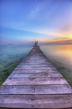 Sunset @ Karimunjawa, Indonesia