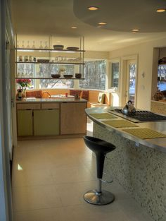 Kitchen Photos Open Shelving Design, Pictures, Remodel, Decor and Ideas - page 5
