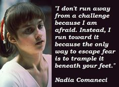Nadia Comaneci Quotes | Gymnastics | Pinterest | Quote, Romania ...