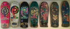 Rob Roskopp Santa Cruz Target/Face Skateboard Set, 1984-1988, Rare. #SantaCruz Vintage Skateboards, The Good Old Days, Target, Face, Santa Cruz, The Face, Faces, Target Audience, Facial