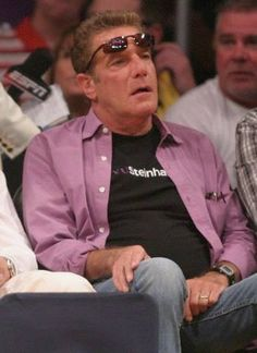 Frey at a match between LA Lakers and Miami Heat