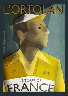 Cycling art Tour de France