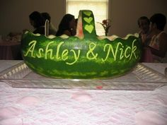 Watermelon Basket for a Wedding | November | 2009 | Alice in the Kitchen