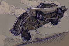 JFK drives a 65 Buick Riviera