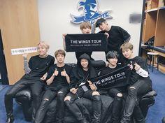 Yoonmin! Vkook! Ahh! BTS Newark 2017 wings tour