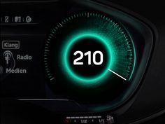 UI Interactions of the week #44: Automotive widgets 🚗 by Sergey Krasotin for eMan