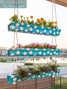20 Easy DIY Gutter Garden Ideas Flowers, Plants