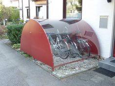 Fahrrad Garage abschließbar (Diy House Box)