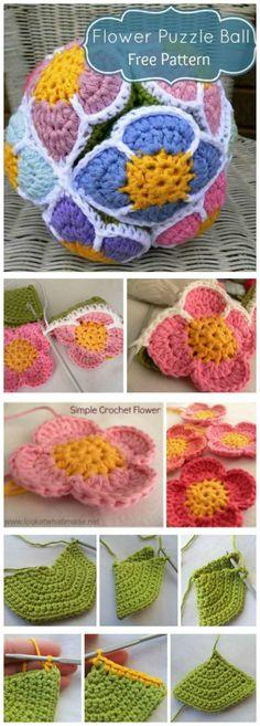 Crochet Flowers - 90+ FREE Crochet Flower Patterns - Page 6 of 18 - DIY & Crafts