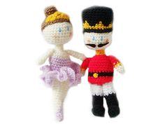Ravelry: The Nutcracker and Sugar Plum Fairy - Amigurumi Pattern pattern by Ana Yogui