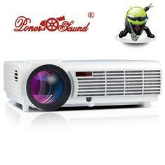 (215.88$)  Buy here  - 3000lumens Full HD LED 3D Home Cinema Projector 1280x800 1080P LCD Digital Video HDMI Proyector TV Beamer