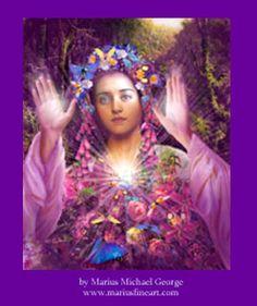 Romona Goddess of Flowers