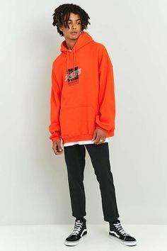 1ec839c82d6 Slide View  1  UO Orange Zeitgeist Hoodie Fashion Addict