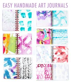 alisaburke: 3 easy handmade art journals
