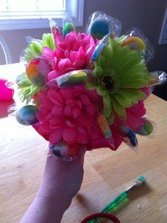 Bridal shower bouquet!