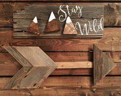 Pallet Sign | Nursery Decor | Nursery Ideas | Reclaimed Wood | DIY | Pallet Art…