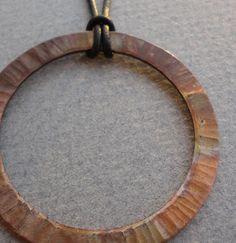... copper pendant ...