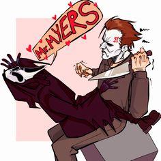 All Horror Movies, Horror Movie Characters, Horror Films, Horror Art, Michael Myers, Horror Villains, Creepypasta Characters, Ghost Faces, Dark Art Drawings