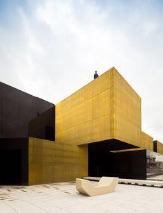 International Center for the Arts 'Jose de Guimarães', @ Guimarães, Portugal  by Pitágoras Arquitectos.  Photography by Joao Morgado
