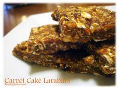 Passing Daisies: Vegan MoFo #30: Carrot Cake Lara Bars