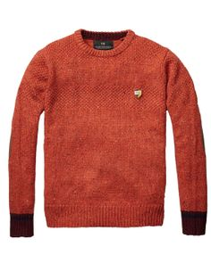 Crew Neck With Contrasting Cuffs / Scotch & Soda
