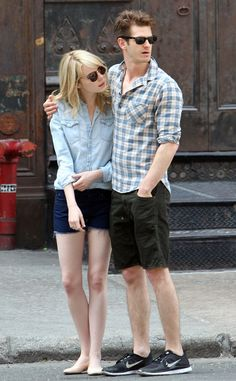 Andrew Garfield & Emma Stone from The Big Picture: Today's Hot Pics! | E! Online