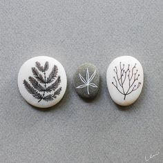 Beach Stones, Botanical Gardens, Rock And Roll, Rocks, Diy Crafts, Hand Painted, Unique Jewelry, Handmade Gifts, Etsy