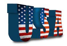 http://usa.mycityportal.net - USA Flag Letters - #usa #america