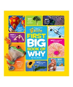Look what I found on #zulily! Little Kids First Big Book of Why Hardcover by National Geographic #zulilyfinds